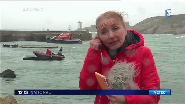 Tempête Carmen : le vent souffle déjà en Bretagne