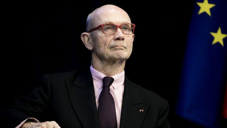 Pour Pascal Lamy, ancien commissaire européen au Commerce, l'épidémie du coronavirus est, comme la crise bancaire de 2008, un test pour l'économie de l'UE. (VINCENT ISORE / MAXPPP)
