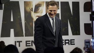 Liam Neeson lors de l'avant-première new-yorkaise le 7 janvier dernier.  (Angelillo / UPI / MaxPPP)