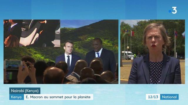 Climat : Emmanuel Macron répond à la plainte contre l'État français