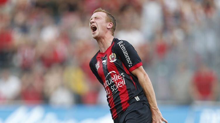 Christian Brüls (Nice).  (VALERY HACHE / AFP)