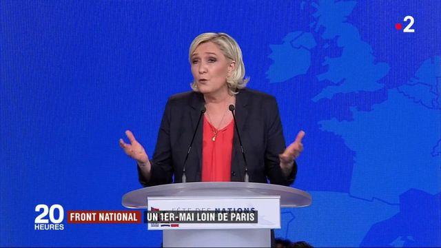 Front national : un 1er-Mai loin de Paris