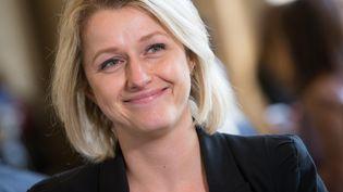 Barbara Pompili, à l'Assemblée nationale, le 8 avril 2015. (MAXPPP)
