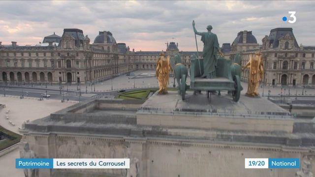 Patrimoine : les secrets du Carrousel du Louvre