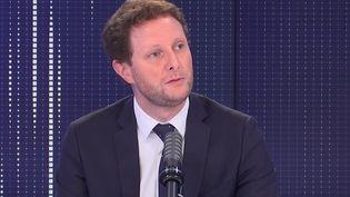 Clément Beaune, secrétaire d'État des Affaires européennes, était l'invité de franceinfo le 7 septembre 2021. (FRANCEINFO / RADIOFRANCE)