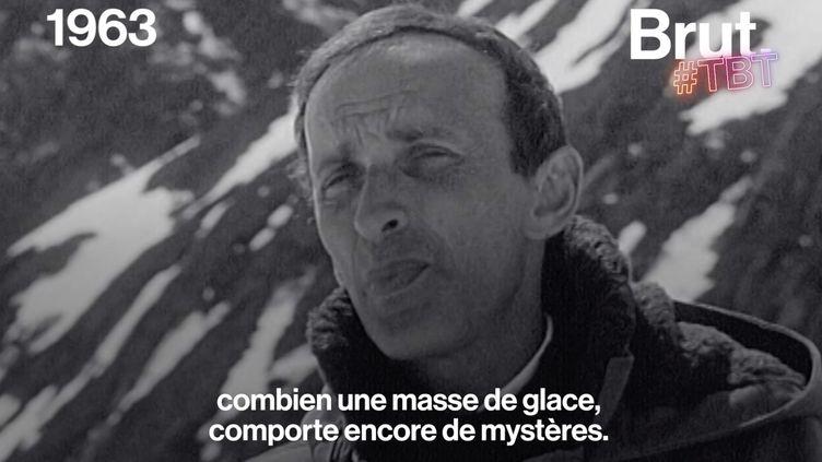 VIDEO. En 1963, la télévision française s'interrogeait déjà sur la fonte des glaciers (BRUT)