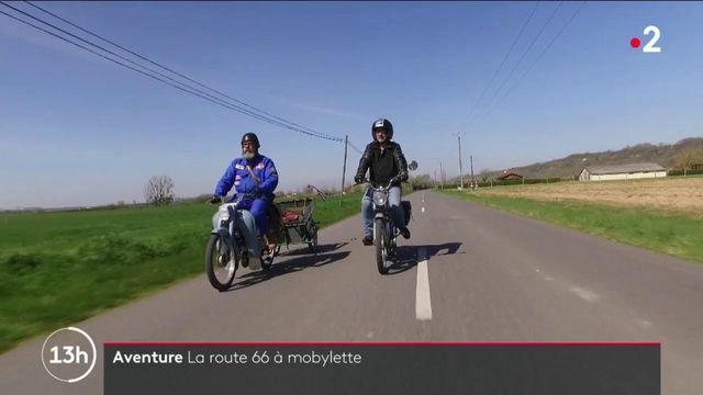Haute-Garonne : deux amis vont rouler en mobylette sur la mythique route 66 aux États-Unis