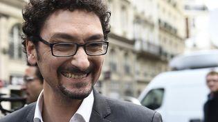 "David Foenkinos, Prix Renaudot avec ""Charlotte"" (Gallimard)  (ERIC FEFERBERG / AFP)"