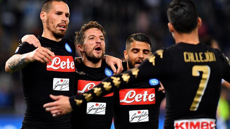 La bonne affaire pour le Napoli (ALBERTO PIZZOLI / AFP)