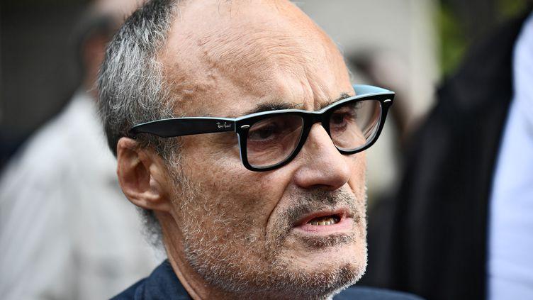 Philippe Val, ancien directeur de la rédaction et de la publication de Charlie Hebdo, le 18 septembre 2018. (PHILIPPE LOPEZ / AFP)