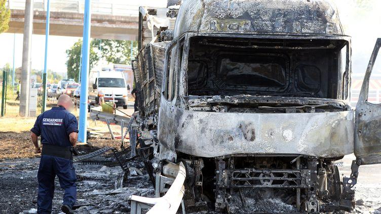 Le chauffeur a été tué par balles par un gendarme sur l'A20 à Montauban. (MANUEL MASSIP / MAXPPP)