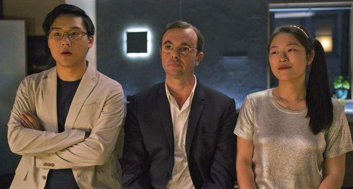 """Nicolas Tang, Eric Berger et Emilie Yii Kang dans """"Tanguy, le retour"""" d'Etienne Chatiliez  (SND)"""