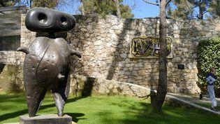 Une sculpture de Miro dans les jardins de la Fondation Maeght de Saint-Paul-de Vence  (AFP)