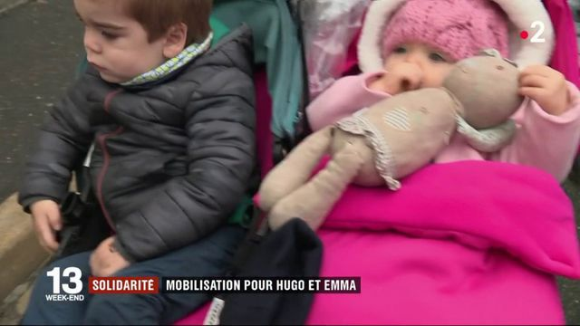 Solidarité : mobilisation pour Hugo et Emma