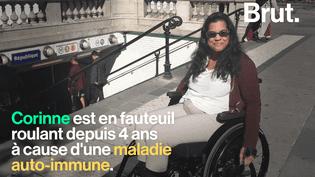 VIDEO. « C'est un parcours du combattant »… Handicapée, cette femme raconte son quotidien en fauteuil roulant (BRUT)