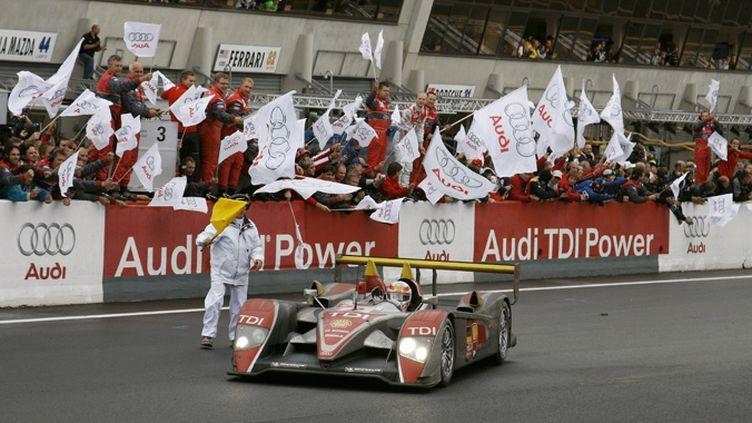 Audi domine les 24 Heures du Mans 2008 avec la R10 TDI