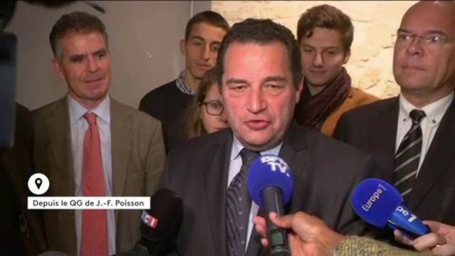 """Jean-François Poisson : """"Je solliciterai les deux finalistes par courrier"""""""