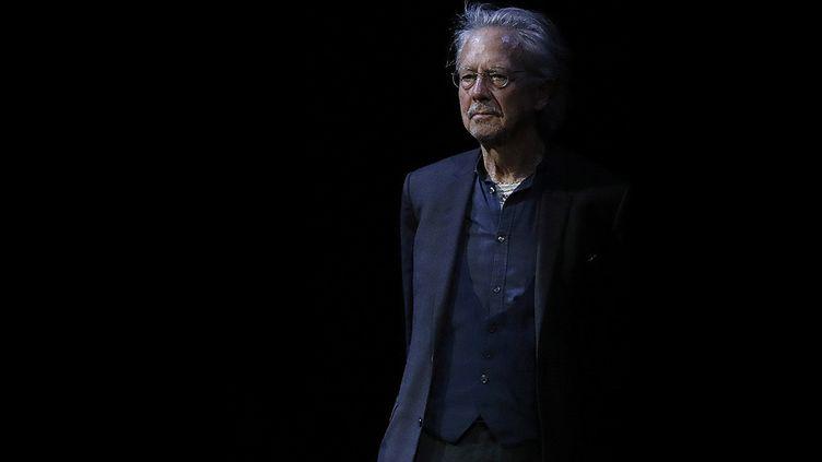 L'écrivain et dramaturge, Prix Nobel de littérature 2019, Peter Handke, juin 2019 à Vienne, Autriche (DRAGAN TATIC/EPA/Newscom/MaxPPP)