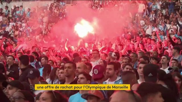 Football : une offre de rachat pour l'Olympique de Marseille