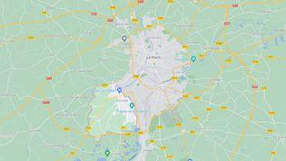 La ville d'Allonnes est située en banlieue du Mans (Sarthe). (GOOGLE MAPS)