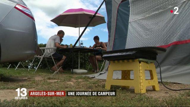 Argelès-sur-Mer : une journée de camping (3/5)