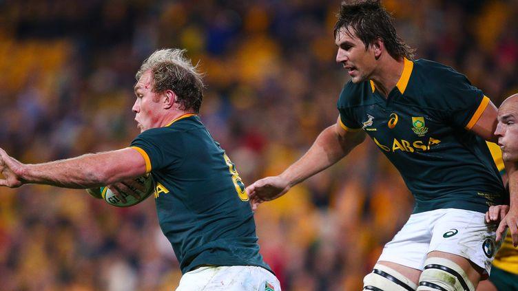Schalk Burger sera du groupe sud-africain à la Coupe du monde (PATRICK HAMILTON / AFP)
