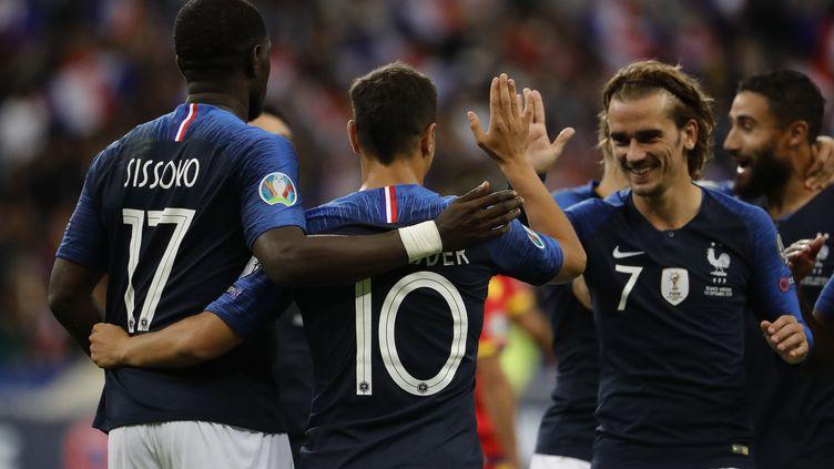 Antoine Griezmann et les Bleus retrouveront les terrains le 5 septembre. (THOMAS SAMSON / AFP)