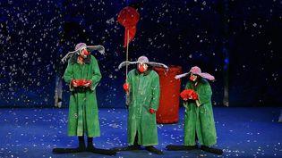 Le Slava's Snow Show  (PHOTOPQR/L''INDEPENDANT/MICHEL CLEMENTZ)