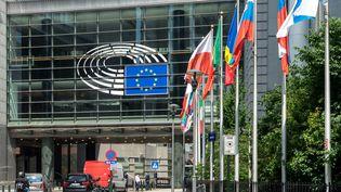 Le parlement européen à Bruxelles le 15 mai 2015. (DANIEL KALKER / DPA)