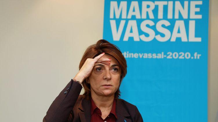 Martine Vassal, la candidate LR pour la mairie de Marseille, le 28 novembre 2019. (MAXPPP)