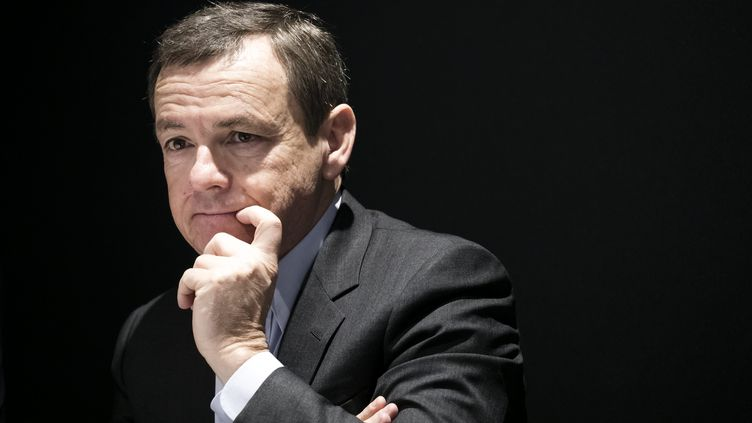 Alain Weill,directeur général d'Altice Group (VINCENT ISORE / MAXPPP)