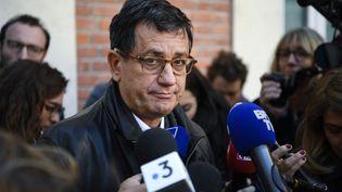 L'avocat de la famille d'Estelle Mouzin, Didier Seban, le 13 novembre 2018. (ERIC FEFERBERG / AFP)