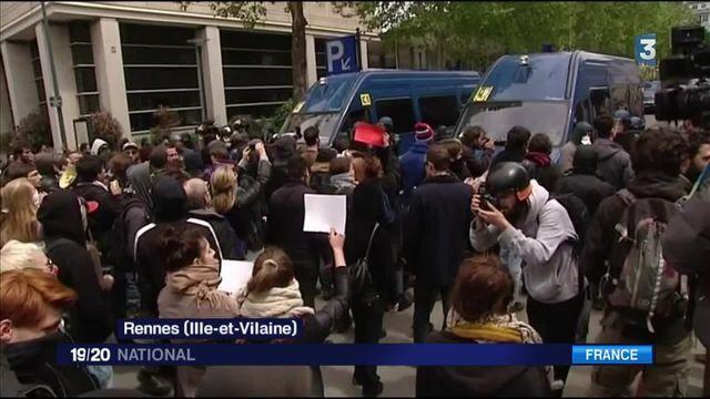 Violences policières : manifestation sous haute tension à Rennes