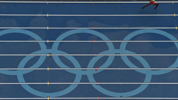 La piste olympique de Rio (ANTONIN THUILLIER / AFP)