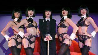 La créatrice de lingerie Chantal Thomass, le 30/06/16 au Crazy Horse  (FRANCOIS GUILLOT / AFP)