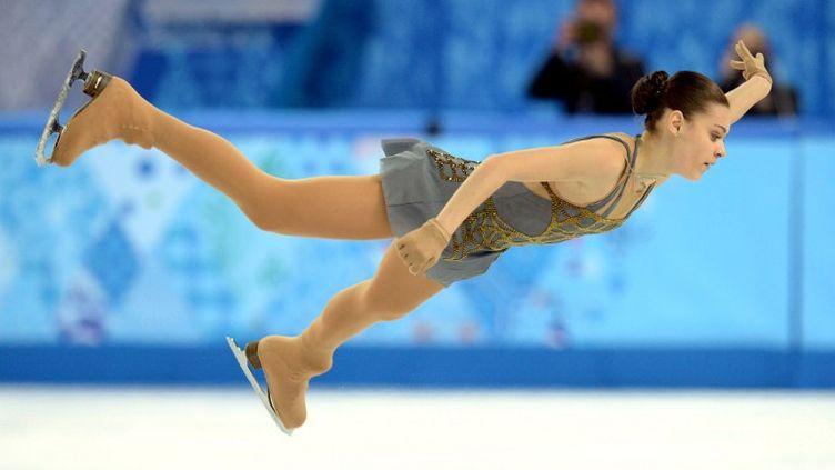 Adelina Sotnikova (championne olympique) (YURI KADOBNOV / AFP)
