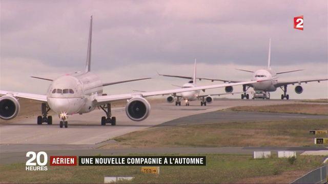 Aéronautique : une nouvelle compagnie française