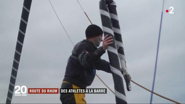Route du Rhum : des athlètes à la barre des Ultime