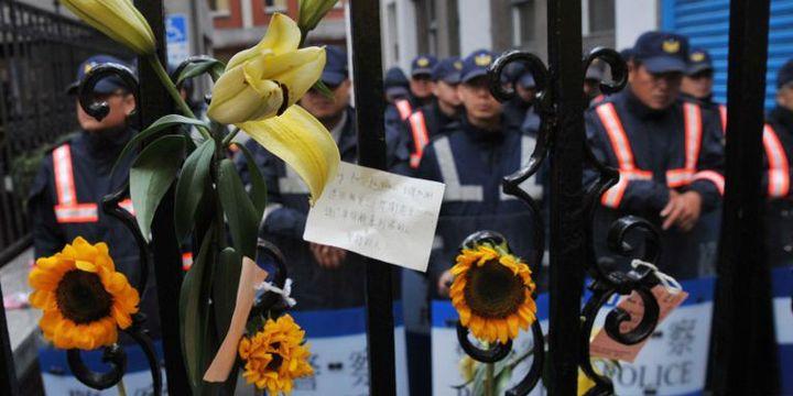 Manifestations de 2014 à Taïwan contre le rapprochement avec Pékin (Mandy Cheng / AFP)