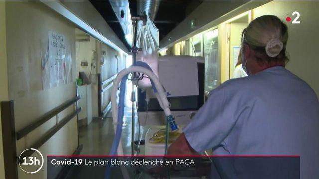 Covid-19 : en Corse et dans les PACA, le plan blanc est activé