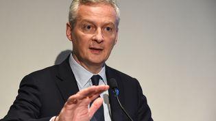 Bruno Le Maire, le ministre de l'Economie et des Finances. (ERIC PIERMONT / AFP)