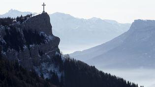 La croix du Nivolet, en Savoie. Photo d'illustration. (VINCENT ISORE / MAXPPP)