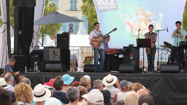 Ouverture du festival Jazz in Marciac, le 29 juillet 2016  (Sebastien LAPEYRERE/MAXPPP)