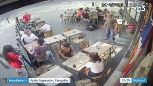 Une femme agressée dans la rue après un harcèlement sexuel (CAPTURE D'ÉCRAN FRANCE 3)