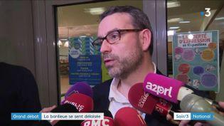 Philippe Rio, maire de Grigny (Essonne) (France 3)