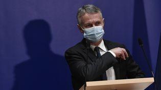 Le procureur national antiterroriste, Jean-François Ricard, le 29 septembre 2020, lors d'une conférence de presse sur l'attentat du 25 septembre à Paris. (STEPHANE DE SAKUTIN / AFP)