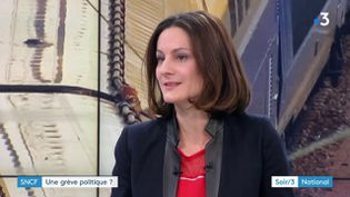 Elsa Faucillon, députée PCF (France 3)