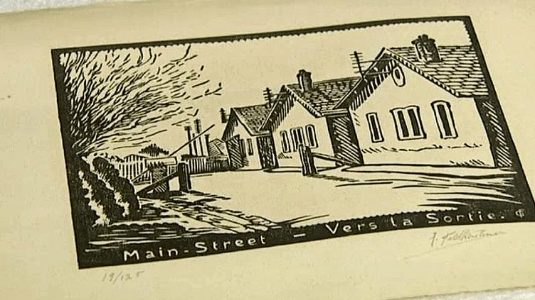 Entre 1941 et 1944, le Camp B de Royallieu accueille plus de 500 prisonniers américains. Le mémorial de la déportation de Compiègne rend hommage à ces hommes qui étaient aussi des artistes  (France 3 / Culturebox / capture d'écran)