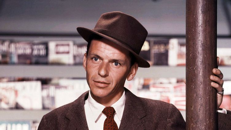 """Frank Sinatra dans le film """"Young at heart"""" de Gordon Douglas (1954)  (Warner Bros / Kobal / The Picture Desk / AFP)"""