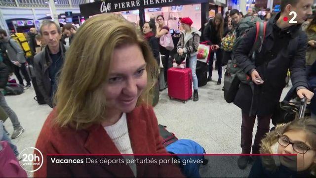 Grève SNCF : des passagers dans l'incertitude pour les vacances